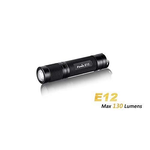 Fenix E12torcia, leggero LED torcia messa a fuoco regolabile–Batteria AA Powered torcia super luminosa da campeggio all' aperto