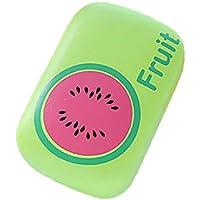 ZZuffig De Contacto Lentes de la Caja de plástico Lindo de la Fruta de Lentes de Contacto Caja del compañero Kit portátil para Lentes de Contacto Caso Eye Care 1PC (sandía), Cuidado Visual