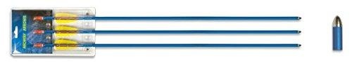 Hellbow Juego de 3 Flechas de Aluminio DE 29 Pulgadas Diámetro 7,6mm
