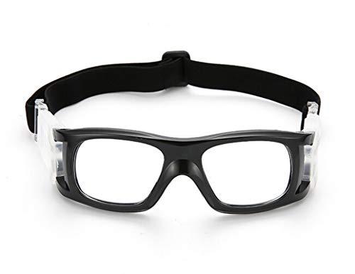DOLOVE Motorrad Brille Polarisiert Sportbrille Radfahren Schutzbrille Winddicht Schwarz