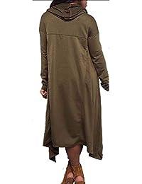 787ef5e6dff Amazon.es: vestidos sudadera - 100 - 200 EUR / Mujer: Ropa