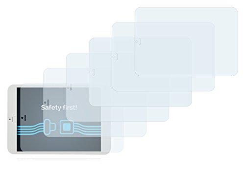 Savvies Schutzfolie für i.onik TP7.85 1200QC [6er Pack] - klarer Displayschutz