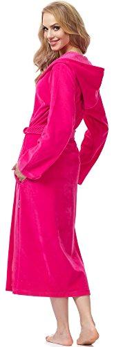 Merry Style Vestaglia per Donna MSFX966 Lampone