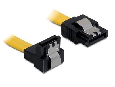 DeLOCK Câble SATA 50cm droite droit rouge de DeLock