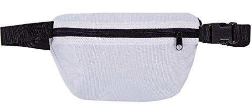 Original 2stoned Hüfttasche mit Stick Classic Logo in mehreren Farben Weiss