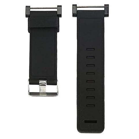 JANLY Bracelets de rechange en caoutchouc de luxe montre sangle + adaptateurs pour Suunto Core (Multicolore B)