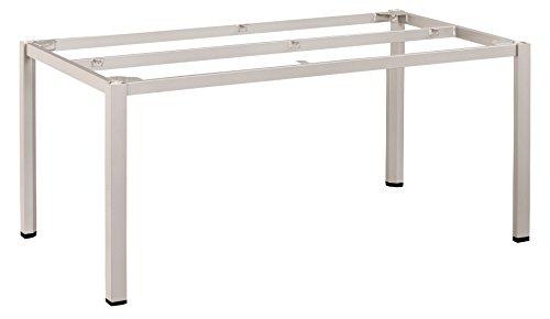 KETTLER Advantage Esstische Cubic-Tischgestell 160 x 95 cm, braun