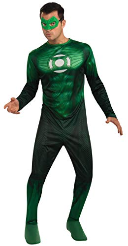Hal Green Kostüm Lantern Jordan - Rubies Costume Co 42668R Teen Classic Green Lantern Hal Jordan Kost-m