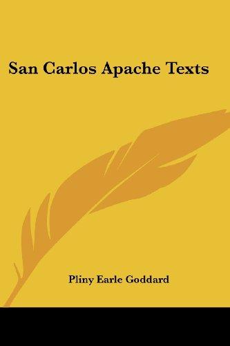 San Carlos Apache Texts
