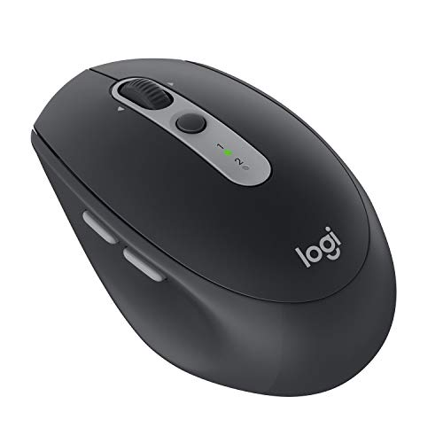 Logitech 910-005197 M590 Silent kabellose Maus (Multi-Device Silent Bluetooth-Maus für Windows/Mac) black graphit