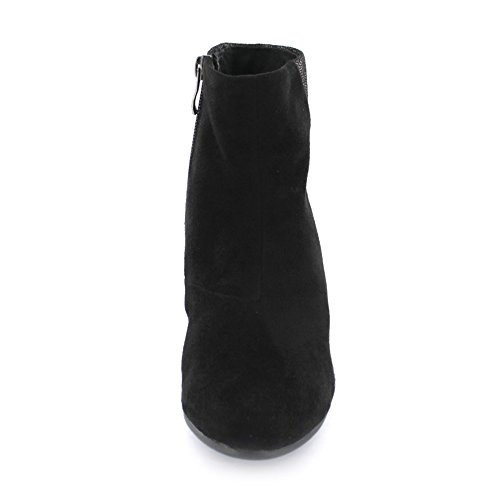 Inuovo Schuhe Damen Sandalen 7280 SCHWARZ Black Women