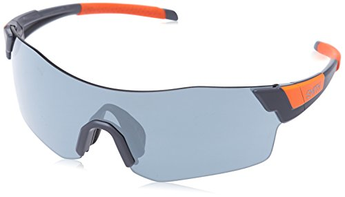 Smith Unisex-Erwachsene Pivlock Arena/N Xb M9L 99 Sonnenbrille, Grau Orange/SIL Grey Speckled Cp