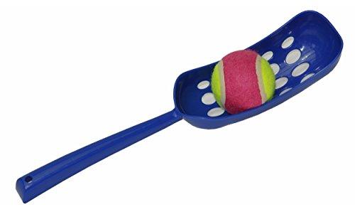 nanook Ballschleuder für Hunde, Wurfschleuder mit Ball, Farbe: blau, Länge: 36 cm, Ø für Wurfbälle: 6,5 cm, 1 Stück