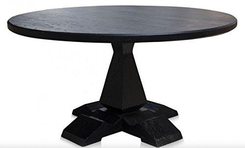 Casa padrino mesa de comedor de lujo negro antiguo for Amazon muebles comedor