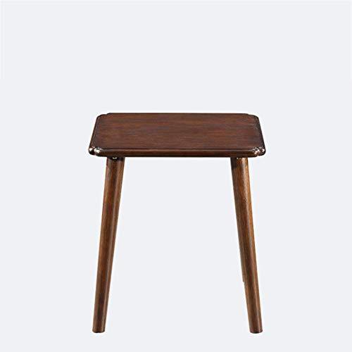 Seite Tee-tabelle (Klapptisch YANFEI, Ecktisch, EIN Paar Seiten, eine Moderne chinesische Art, Tee-Tabellen, EIN kleines Quadrat Brown)