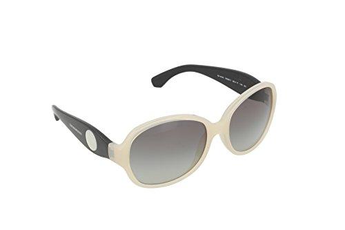 Emporio Armani Damen EA4040 Sonnenbrille, Weiß (Cream 532911), One size (Herstellergröße: 60)