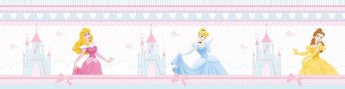 Polypropylene-Bordüre 'Princess a fairytale dream' Kollektion kids@homeIII