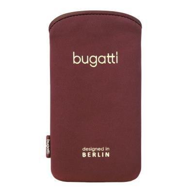 Bugatti SlimCase Odessa für Apple iPhone SE / 5S / 5 / 5C, Samsung Galaxy S4 Mini - Größe ML [SoftTouch Neopren EasyCleaning-Effekt Super dünn & leicht] - 08444