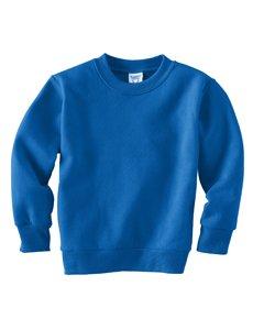 Rabbit Skins Kaninchen-Sweatshirt für Kleinkinder, Fleece, langärmlig - Blau - 2 Jahre -
