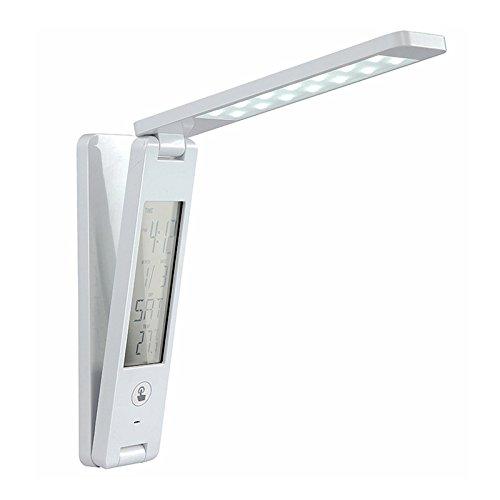 Acryl Schatten-tischleuchte (XXFFH Glühlampen Leuchtstofflampe Licht Auge Touch Dimmer Lampe Led Klappbare Usb Kalender Multifunktionalen Touch Tischleuchte)