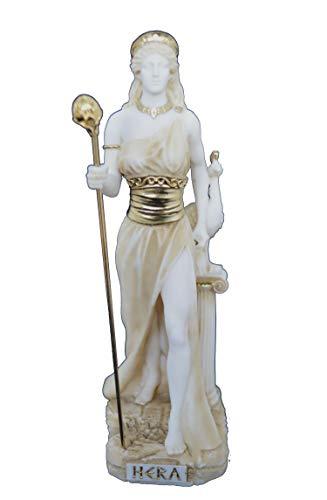 Talos Artifacts Skulptur Hera, antike griechische Göttin, aktive Statue im Alter