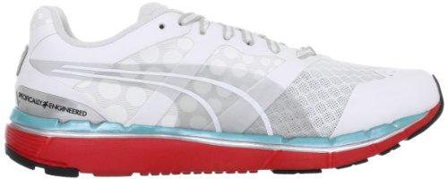 Puma, Damen Laufschuhe Weiß - Blanc (01White/Hibiscus/Curacao)