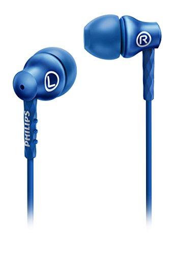 Philips SHE8100BL/00 In-Ear-Kopfhörer (8,6 mm Treiber) blau