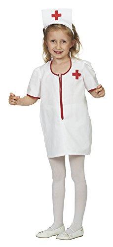 Krankenschwester Sophie Kostüm für Mädchen - Gr. 104 (Krankenschwester Kostüm Kind)