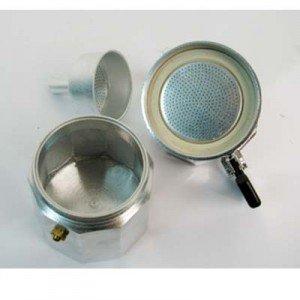 MSV MS640 - Lote de 2 juntos para cafetera, aluminio, 9 tazas