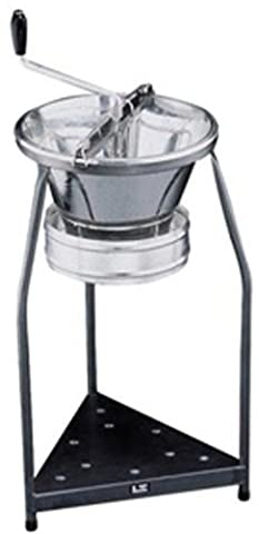 Paderno World Cuisine Sieve for 15-Quart Tin Food Mill with 1/8-Inch Perforations