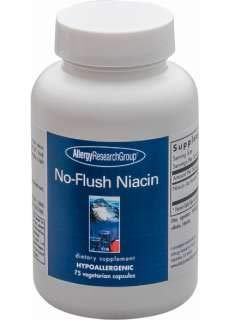 Allergy Research Group – NoFlush Niacin 430 mg 75 caps