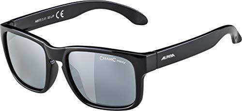 ALPINA Jungen Mitzo Sonnenbrille, Black, One Size