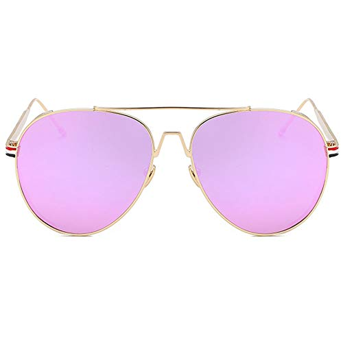 Vikenner Polarisierte Damen Herren Sonnenbrille Pink Dekorative brille ohne sehstärke Brille Lichtschutzbrille Arbeitsplatzbrille blaulichtfilter Brille Farbe Linse
