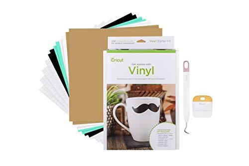 Cricut Starter Kits Vinyl sortiert -
