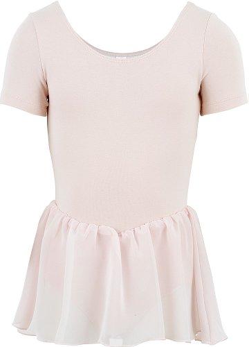 Bloch 5342 Tiffany Ballet-trikot für Kinder Rosa - Jahre 6 - 7