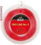 Kirschbaum Pro Line II 200m rot PolyesterGr. 1.2