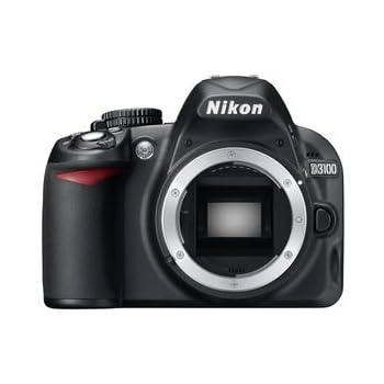 """Nikon D3100 - Cámara réflex digital de 14.2 Mp (pantalla de 3"""", vídeo 1080p Full HD) negro - sólo cuerpo [importado]"""