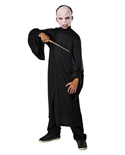 Magier Voldemort Kostüm für Kinder M (Harry Potter Lord Voldemort Kostüm)