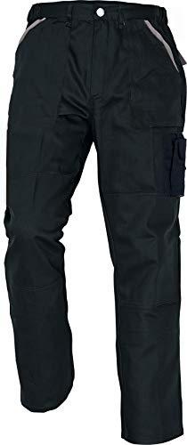 Stenso MAX - Herren Praktisch Arbeitshose Bundhose/Cargohose Baumwolle Schwarz 50