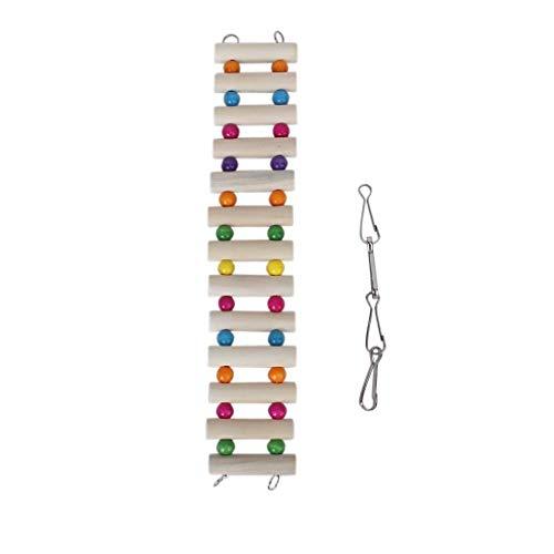 Pet Spielzeug Hamster Holzleiter Spielzeug Holz Maus Ratte Hamster Gerbil Conductor-Brücken-Haustier-Papageien-Vogel Nagetier Kanarischen Spielzeug -