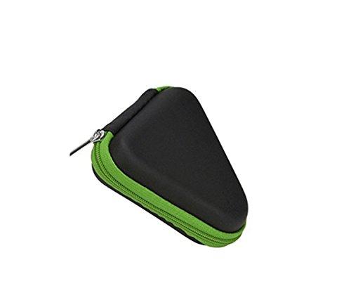 Preisvergleich Produktbild Lanspo Boxen Fall Tasche für Finger Gyro Geschenk für Fidget Hand Spinner Dreieck Finger Spielzeug Focus ADHS Autismus Tasche Box Fall (Grün)
