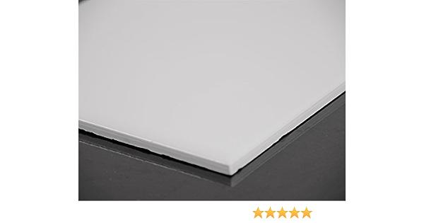 1qm = 1 Karton Mosako Wandfliesen 14,8x14,8x0,6cm weiß glänzend