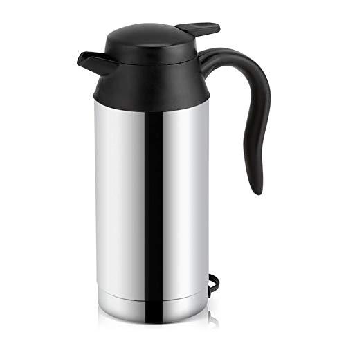 Ysccsy veicolare bollitore 12v/24v 750ml auto electric pot in acciaio inox con accendisigari auto accessori per caffè tazza,12v