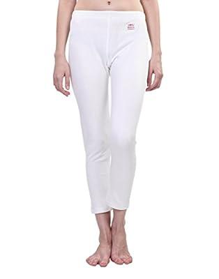 VIMAL Premium White Thermal Bottom for Women(Pack of 2)