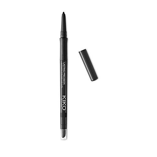 Automatic Eye Liner (Kiko Milano Lasting Precision Automatic Eyeliner and Khol Kajal Nr. 16 Black Inhalt: 0,35g Damit die Augen richtig in Szene gestetzt werden. Eyeliner)