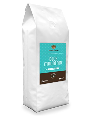 Brown Bear Blue Mountain Café En Grano Tostado Medio 1 kg