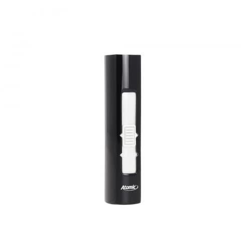 Atomic Ohne USB-Feuerzeug-Flamme Tasche Schwarz