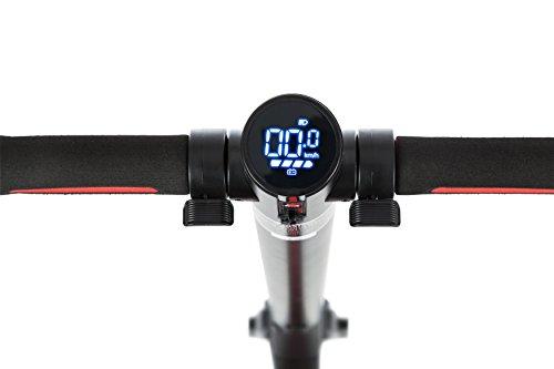 E-Scooter Klappbar Roller Scooter Elektroroller Carbon - Reichweite bis zu 35km 25 km/h P1 PowerOne (Schwarz) - 3