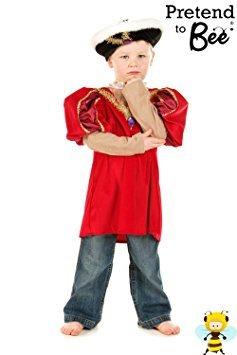 Jungen Tudor König Henry VIII 8. Fancy Dress Costume Historische 7-9 Jahre (Viii König Henry Kostüme)