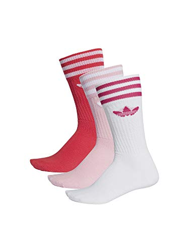 adidas Solid Crew 2 Pack Calze Unisex Bambini
